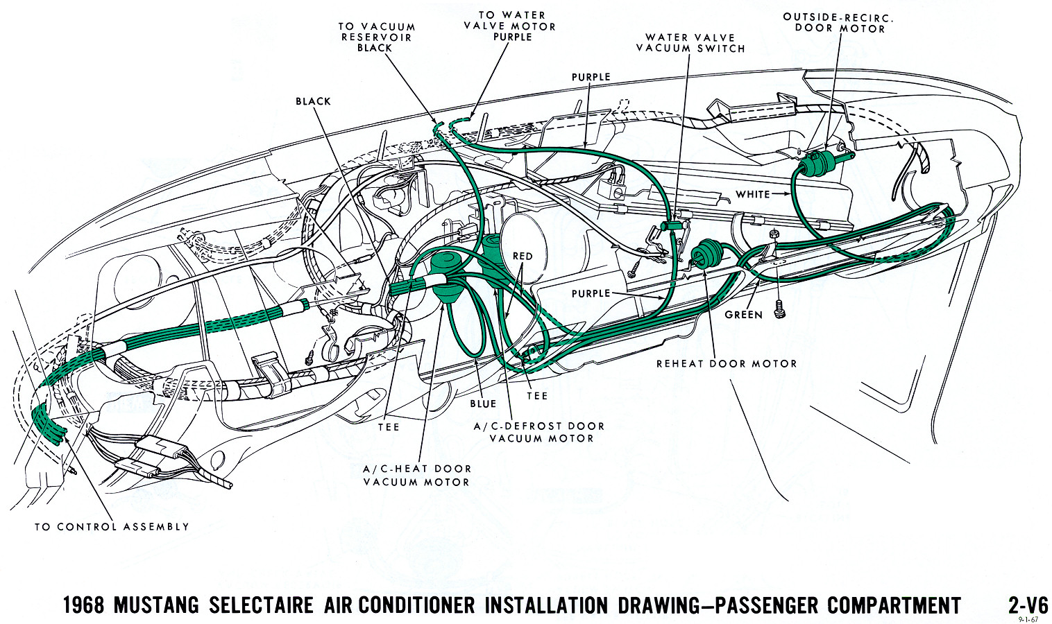 V on 1971 ford truck wiring diagrams