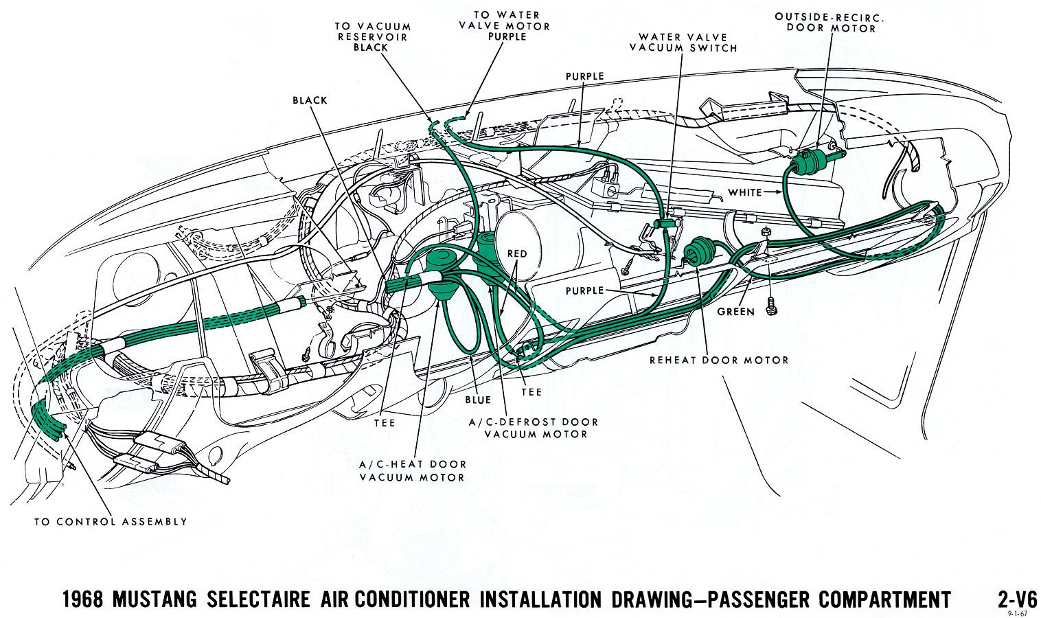 1968 Mustang Vacuum Diagrams   Evolving Software