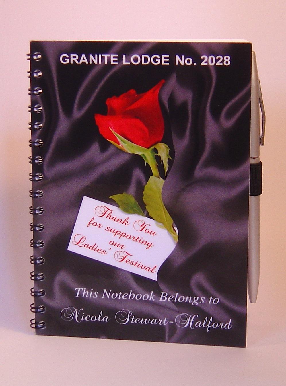 Ladies Night Gift Ladies Notebook With Pen