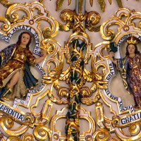 The Rosary Chapel in the Church of Santo Domingo, Puebla