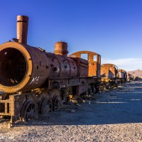 The Uyuni Train Cemetery