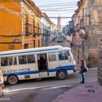 Potosi's Nissan Buses