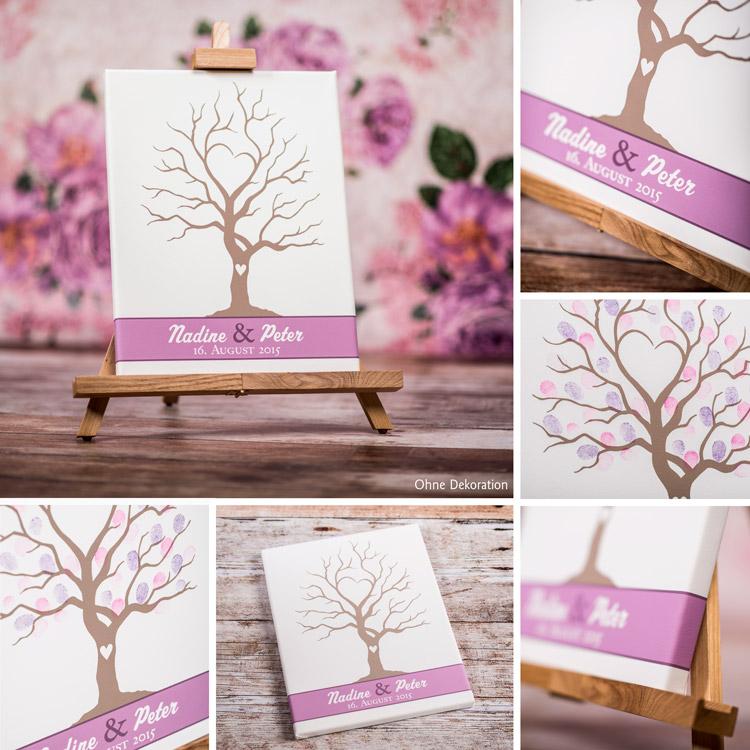 wedding tree gaestebuch fingerabdruecke impressionen