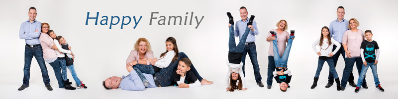 happy family als xxl panorama leinwand