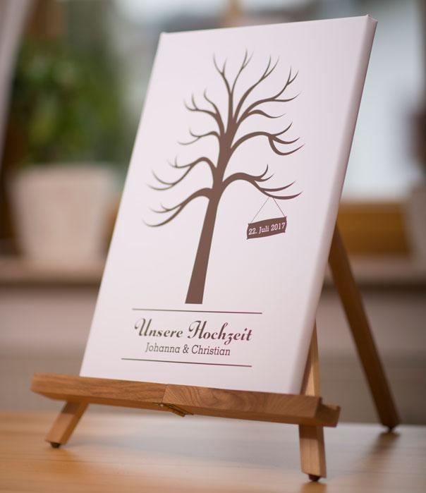 hochzeit wedding tree