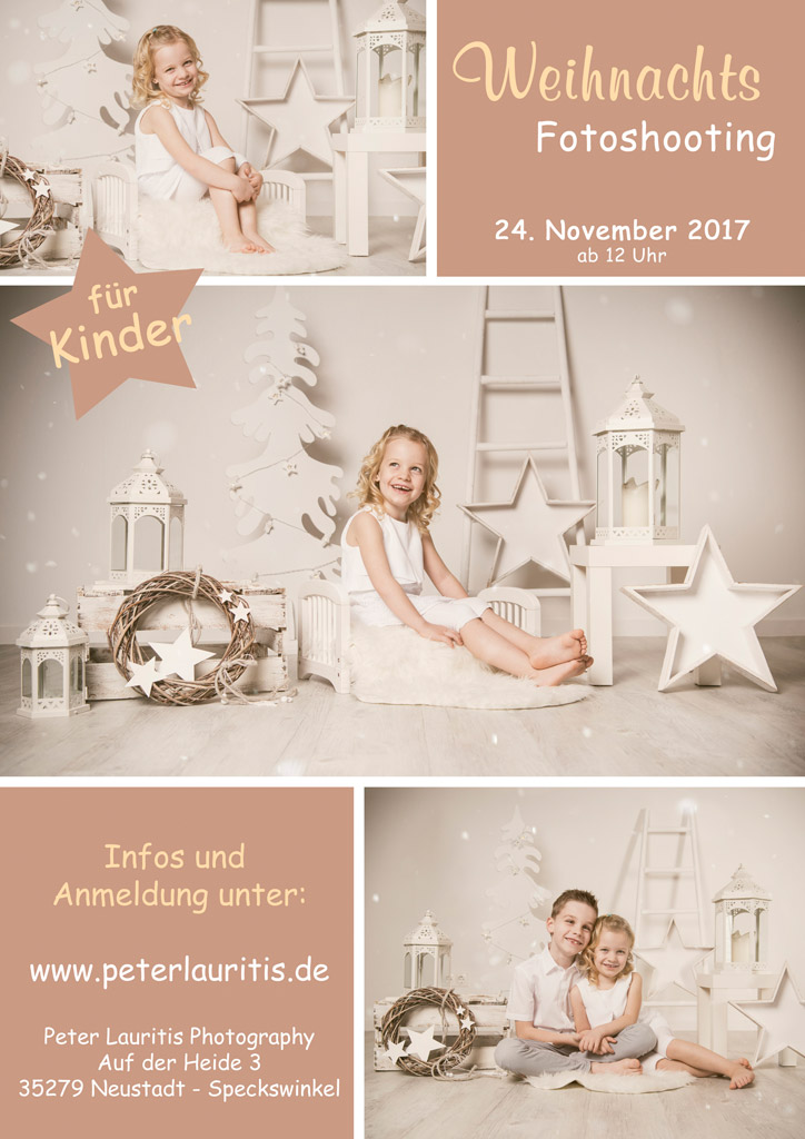 weihnachts fotoshooting kinder
