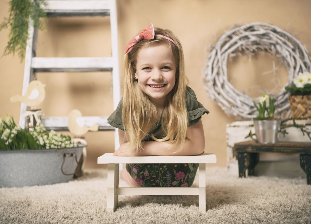 kinder fotoshooting aktion fruehjahr