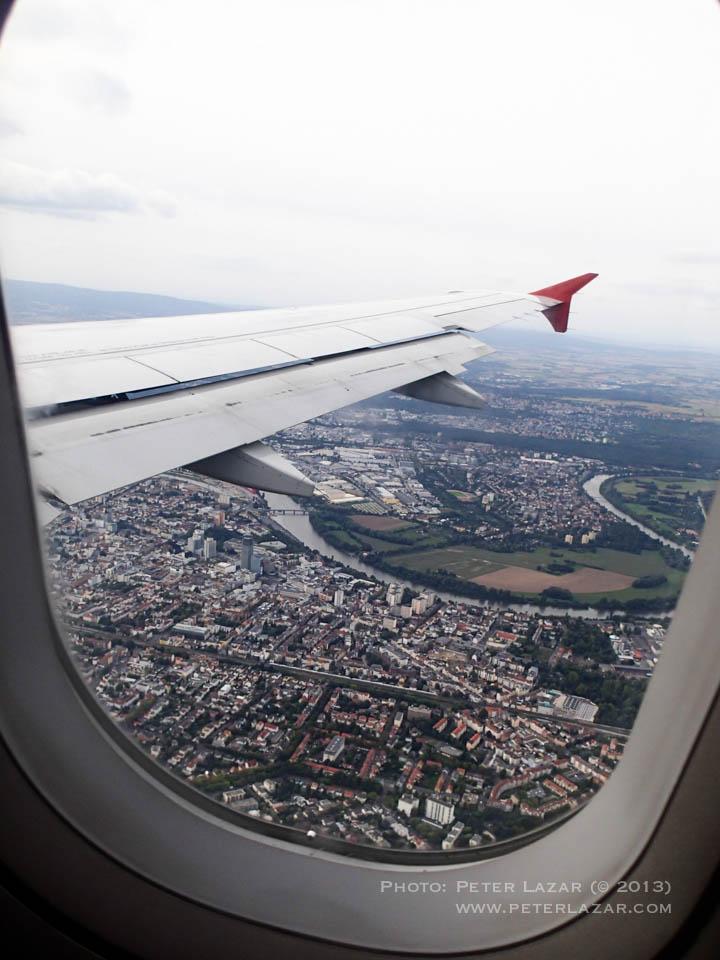 Frankfurt, mi egy héttel hamarabb értünk ide