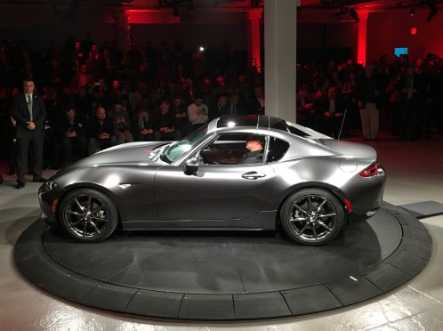 MX-5 RF intro New York