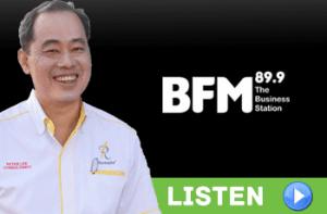 Peter Lee on BFM 89.9