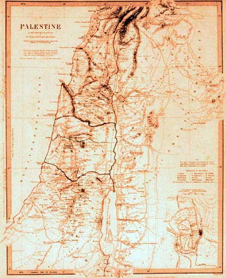 PALESTINE, 1824?