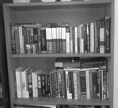 Reorganised Bookshelf