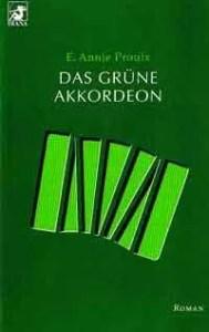 "Buch-Cover ""Das grüne Akkordeon"""