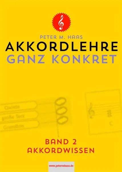 Akkordlehre Band 2 von Peter M. Haas Titelbild