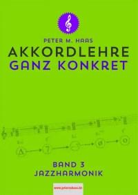 Akkordlehre Band 3 von Peter M Haas Titelbild