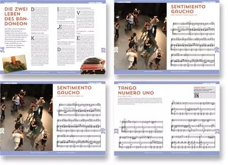 Blick ins Notenbuch TANGO-FIEBER von Peter M Haas