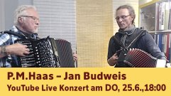 YouTube Live Konzert P.M.Haas – Jan Budweis