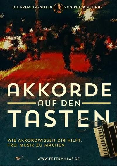 Titel Akkorde auf den tasten von Peter M. Haas