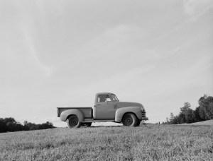 George Woodard's pickup