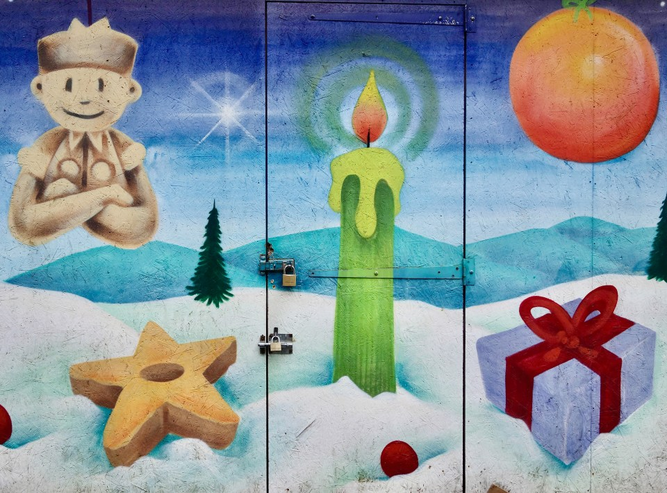 Colmar Christmas Stall