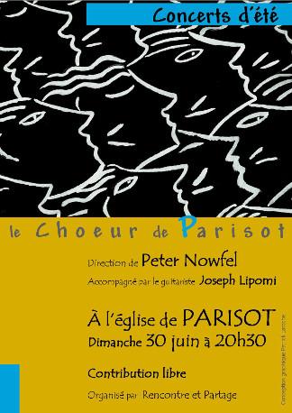 Concert à Eglise de Parisot