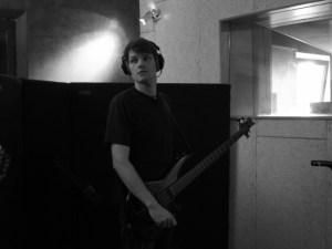 In studio with Mafuba.