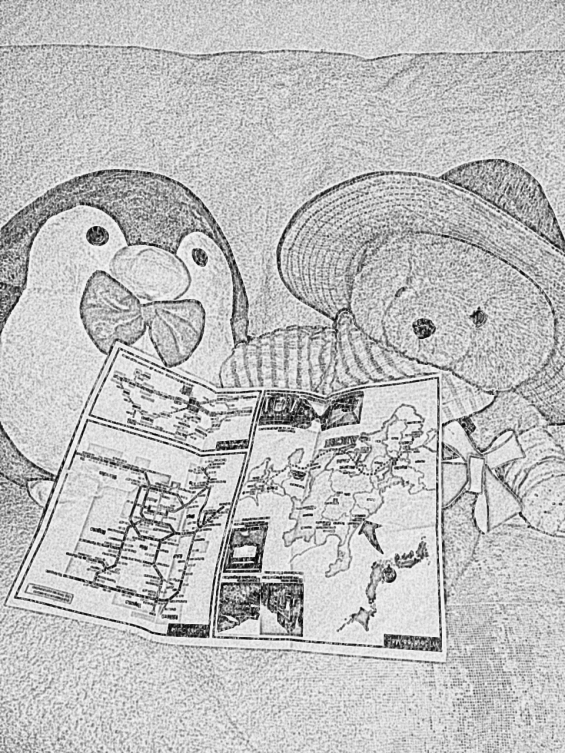 Bear Penguin map