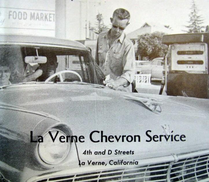 1959 LVC Lambda La Verne Chevron Service