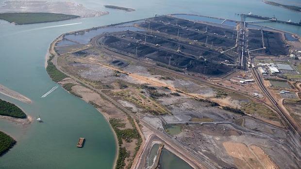 Gladstone coal terminal Brisbane Times
