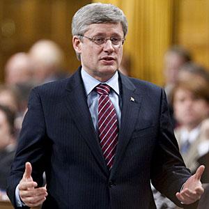 Stephen Harper Sean Kilpatrick Canadian Press