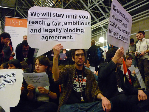 bella_center_activists1 COP15 Copenhagen