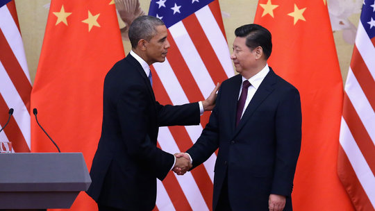 us-china-climate-deal Obama XI by Feng li - Getty