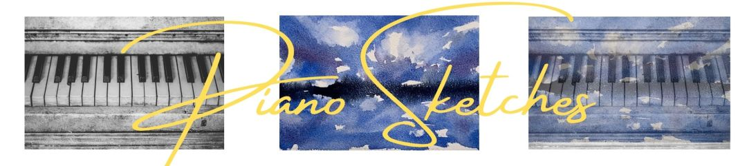 Piano Sketches Banner