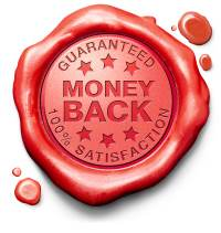 30 Day no quibble money back guarantee
