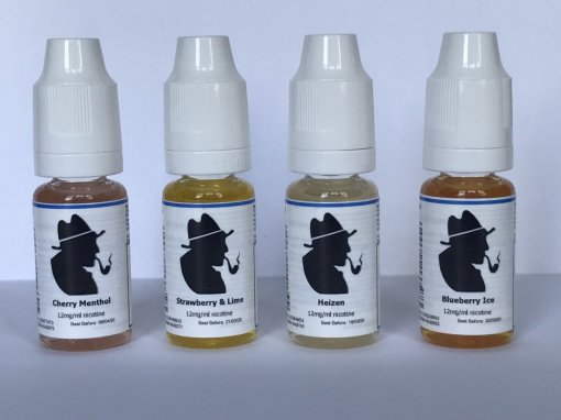 fruit eliquid 12 6 and 0 mg from petersham pipes