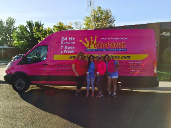 Peterson Plumbing Making Strides