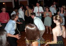 Allison and Jason's wedding reception at The Colgate Inn, Hamilton, NY