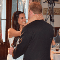 Wedding: Loreley and Benjamin at Oneida Community Mansion House, 4/17/15