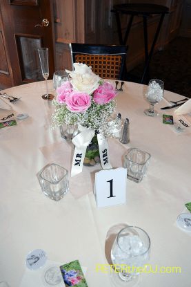 One of the centerpieces