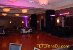 Grand Ballroom ready for reception
