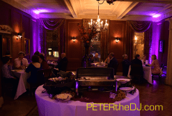 ...and some uplighting shots in the room adjacent to the dance floor.