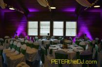 Uplighting at Arrowhead Lodge, April 2016