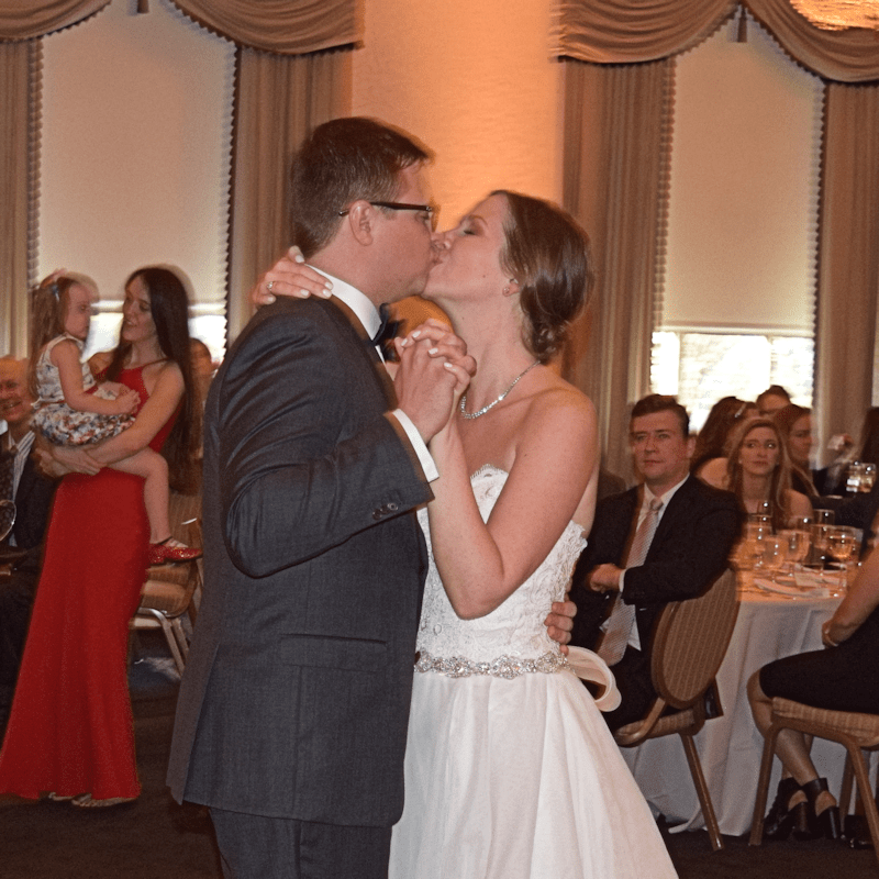 Wedding: Erica and Grant at Syracuse's Genesee Grande, 4/22/17