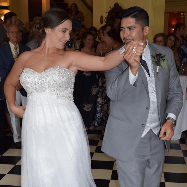Wedding: Ashley and Edward at Lincklaen House, Cazenovia, 7/22/17
