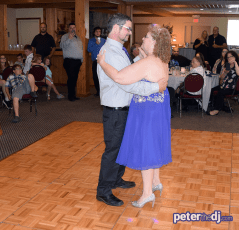 First Dance: Kathy and Duncan's 25th wedding anniversary at Drumlins, Syracuse
