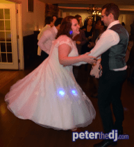 Megan and Jimmy's wedding reception at Beardslee Castle, Little Falls, NY. Photo by DJ Peter Naughton.
