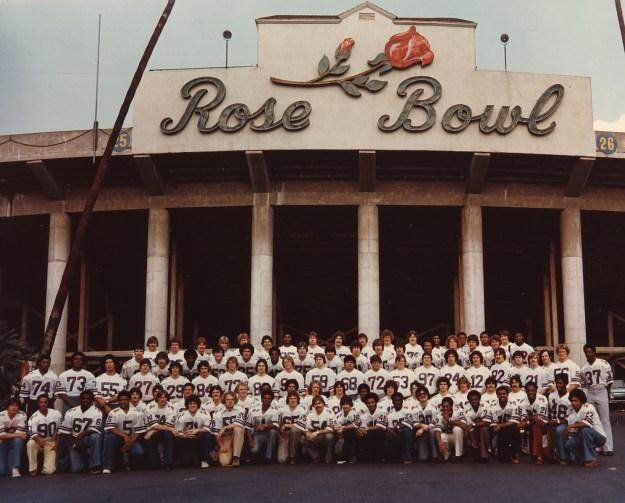 The 1978 Rose Bowl team.