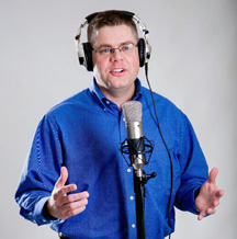 """Experienced broadcaster, radio personality, emcee, and voiceover artist Chris Brinkley narrates Peter Tormey's book """"The Thursday Speeches: Lessons in Life, Leadership, and Football from Coach Don James."""""""