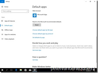 Set default app associations via Windows 10 MDM – More than