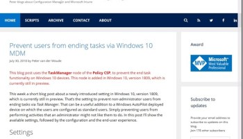 Windows Autopilot self-deploying mode – More than just ConfigMgr